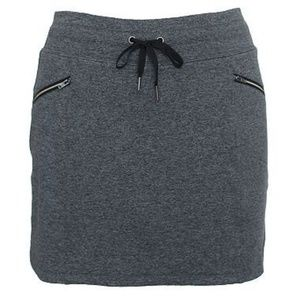 Tangerine Ladies Active Metro Skort charcoal